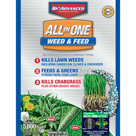 BioAdvanced All-in-One Weed & Feed with Microfeed Action Logo