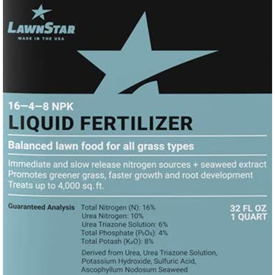 LawnStar 16-4-8 Liquid Logo