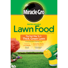 Miracle-Gro Water Soluble Lawn Food Logo