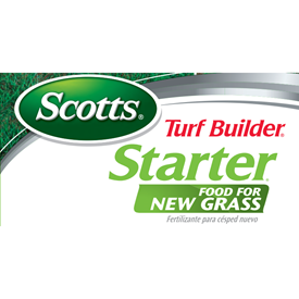 Scotts Turf Builder Starter Food for New Grass Logo