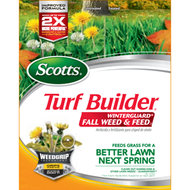Scotts Turf Builder WinterGuard Fall Weed and Feed Logo