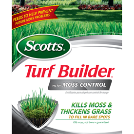 Scotts Turf Builder with Moss Control Logo