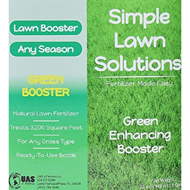 Simple Lawn Solutions Intense Green Booster Logo