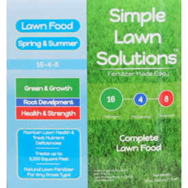 Simple Lawn Solutions Lawn Food Logo